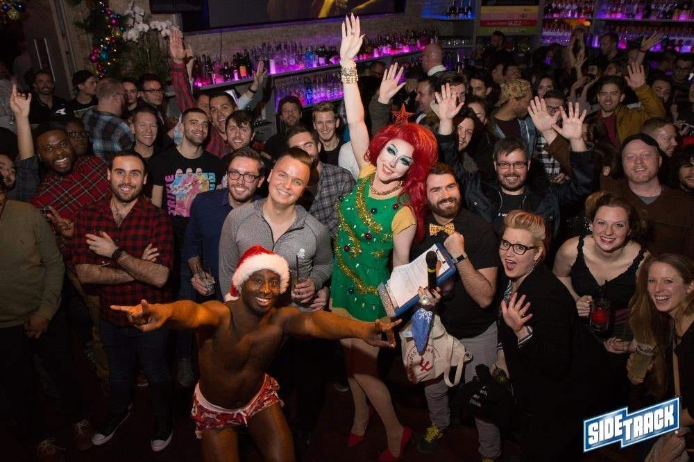 boystown chicago side track drag queen event