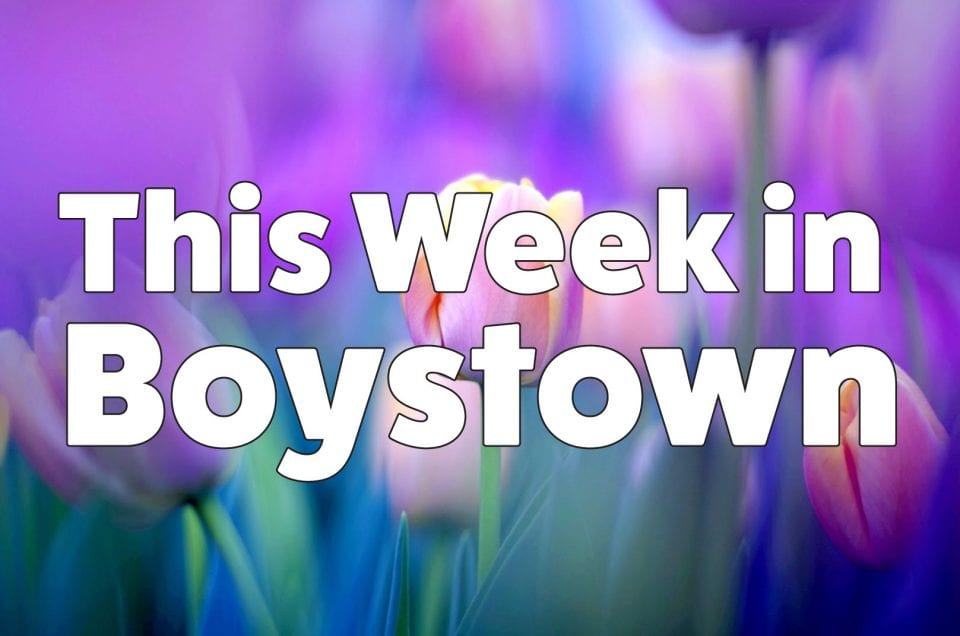 This Week In Boystown