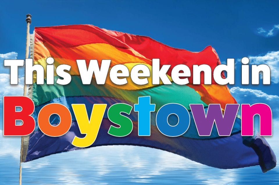 This Weekend in Boystown – June 8 – June 10