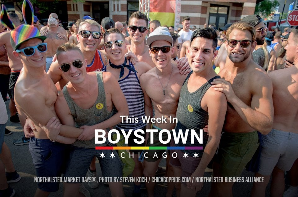 gay neighborhood boystown newsletter cover